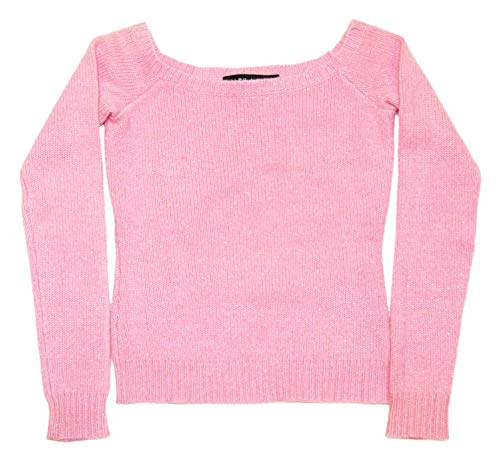Ralph Lauren Polo Womens Pink Gold Cashmere Midriff Crop Top Sweater Small
