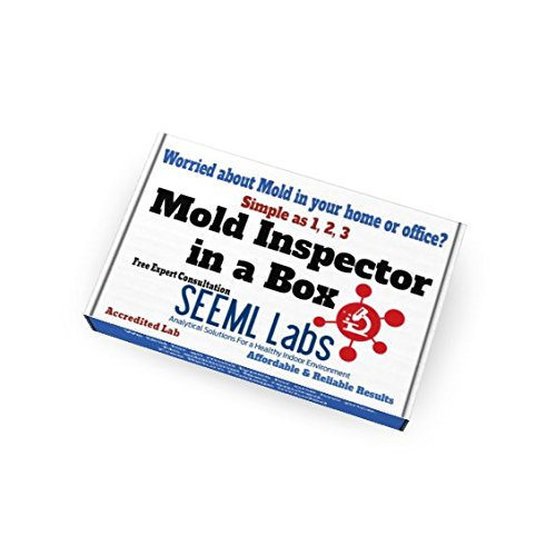 DIY Mold 3 Test Kit (Same Day Results) Expert Consultation and AIHA-LAP, LLC Accredited Lab Analysis Included