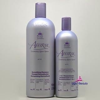 Avlon Affirm Normalizing Shampoo 32 oz & Avlon Affirm 5 in 1 Reconstructor 16 oz Combo Set