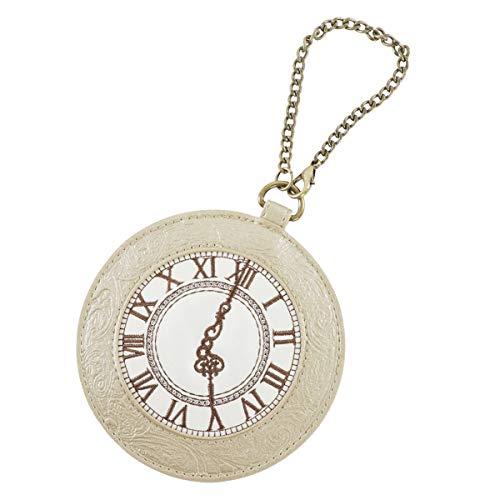 [フラッパー] 定期入れ レディース チェーン付き 懐中時計 ゴールド