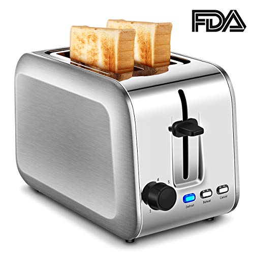 2-Slice Toaster (Bright Silver)