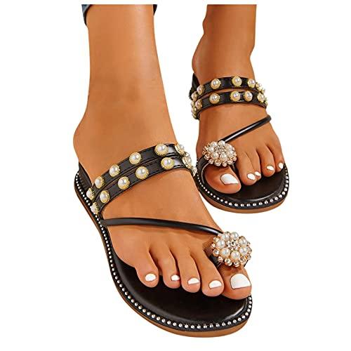 AIchenYW Damen Strass Ring Schuhe Bild