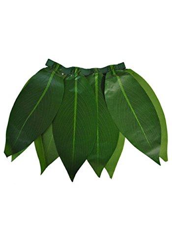 Jupe hawaïenne à feuilles vertes enfant - Taille Unique