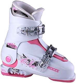 Roces 2016 Idea Adjustable White/Deep Pink Kids Ski Boots 19.0-22.0