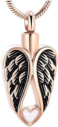 TYBM Novedad Collares Colgantes Collar De Urna De Cremación Joyería Conmemorativa Cenizas De Perro Cenizas De Cremación Conmemorativas Collar De Crema De Recuerdo