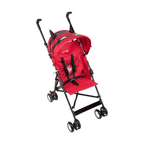 Safety 1st Peps Buggy mit Sonnenverdeck, Wendiger Kinderwagen Nutzbar ab 6 Monate Bis max. 15 kg, Kompakt Zusammenfaltbar, Wiegt nur 4, 5 kg, Donuts Party Pink (rosa)