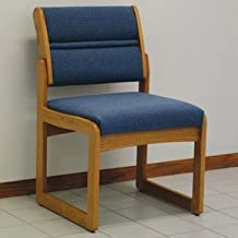 FixtureDisplays Valley Armless Guest Chair 1040660-NF No