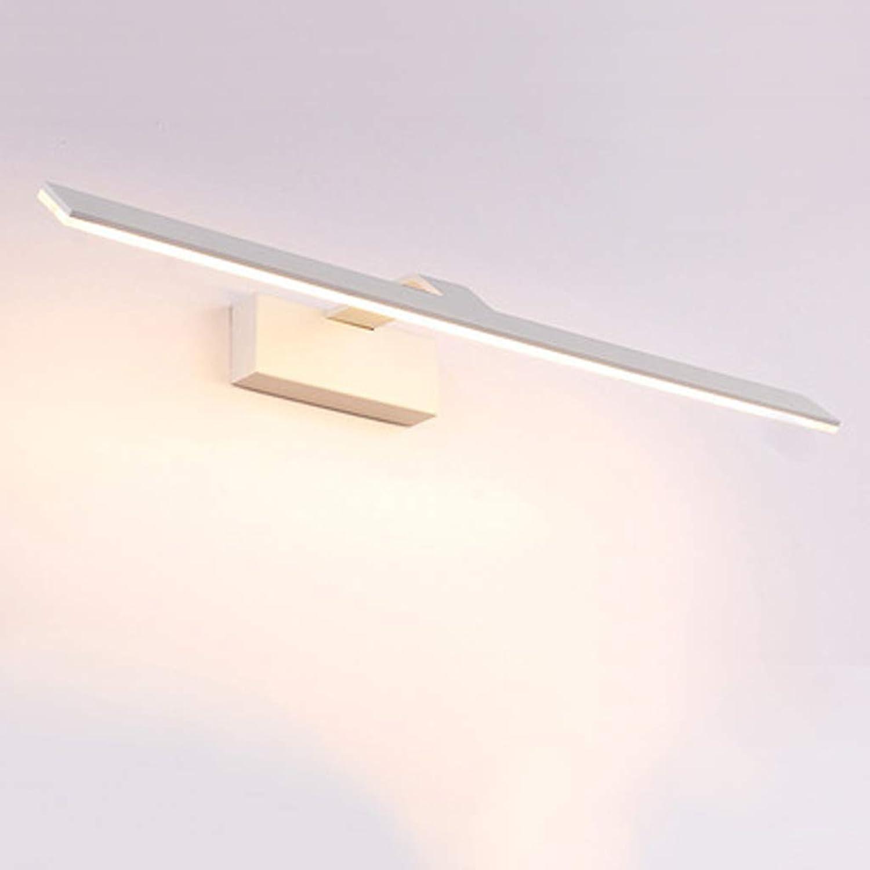 TYXHZL Schrank Light Bad Spiegel Scheinwerfer LED Wasserdicht Modernen Minimalistischen Wand Lampe Bad Toilette Dressing Tischspiegel,A