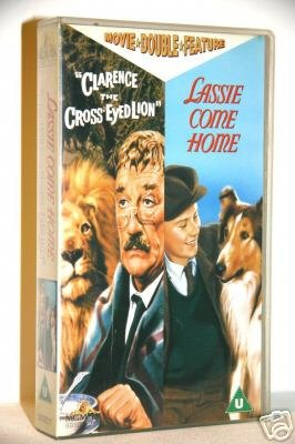 Clarence The Cross-Eyed Lion / Lassie Come Home (1965/1943)