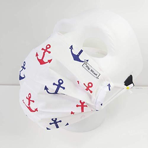 Moin Hamburg Mundbedeckung Handmade waschbar Einlagig Baumwollemaske Behelfmaske