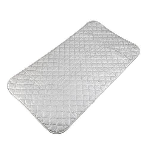 Pomya Manta de Planchado, Resistente al Calor Tabla de Planchar Almohadilla de Planchado Plegable Antideslizante Tapete de Planchado magnético Tablero de Mesa para el hogar, Viajes