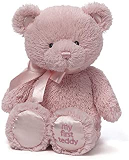 Baby GUND My First Teddy Bear Stuffed Animal Plush, Pink, 10""