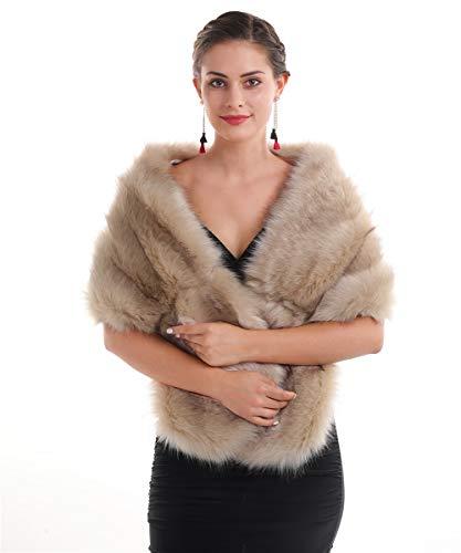 Saferin Chaqueta cuello abrigo bufanda de las mujeres cuello