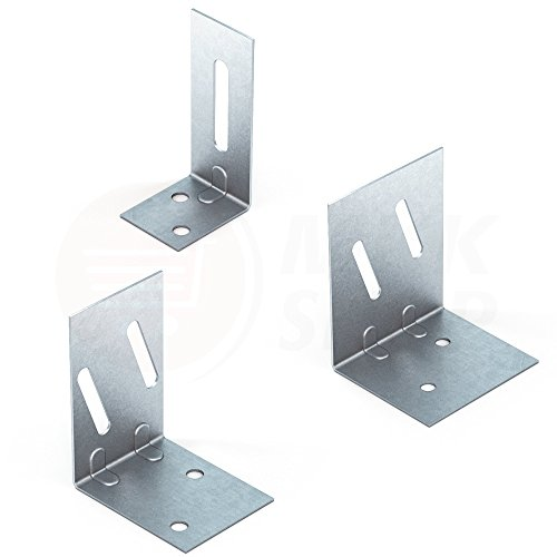 4x Türpfosten Winkel Türwinkel für CW/UA Profil Trockenbau Türverbinder 100 mm