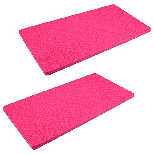BESPORTBLE 1 par de Almohadillas de Yoga para Rodilla Codos Ejercicio Estera de Rodilla Rodillera para Trabajo de Jardinería Baño de Bebé