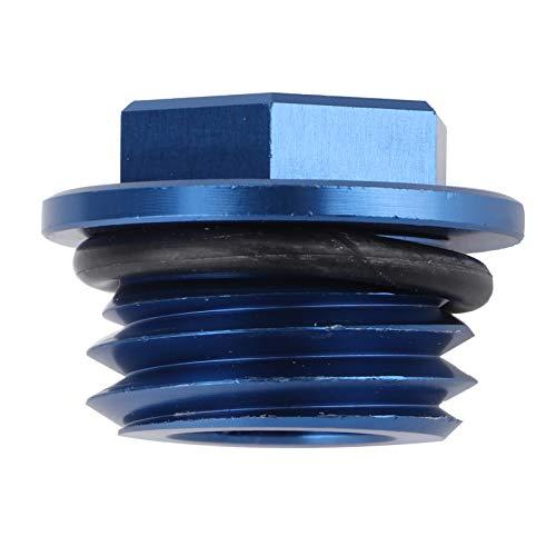 Tapón de llenado de Aceite, Tapa del Tanque de Aceite de Aluminio 6061 T6 Duradero para Husaberg TE 125‑300 2011‑2014 para Husqvarna TC 85 2014‑2015(Blue)