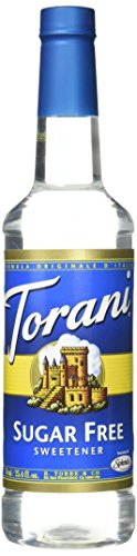 Torani Sugar Free Syrup, Sweetener, 25.4 Ounce