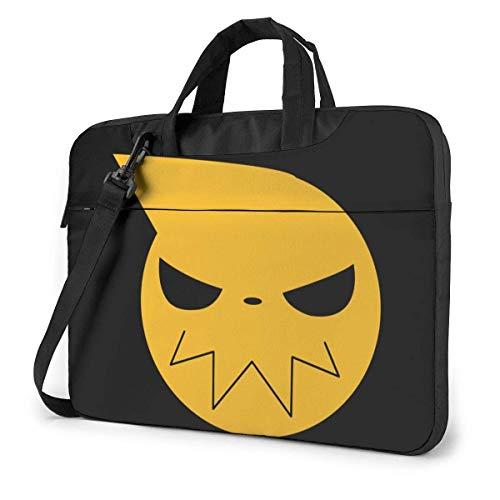 Laptop Shoulder Bag,Soul Eater Shoulder Messenger Bag,Durable Comfortable Laptop Messenger Bags For Men Women,40x29x2cm