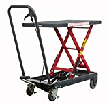 Pake Handling Tools Hydraulic Manual Scissor Lift Table - Sturdy and Durable Everyday Use Lift Table 500lbs Capacity