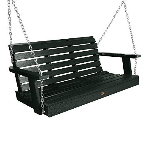 Highwood AD-PORW2-CHE Weatherly Porch Swing, 4 Feet, Charleston Green