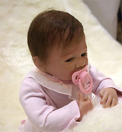 Terabithia 18 Pulgadas realistas Lindas coleccionables Reborn Baby Girl Boy Dolls