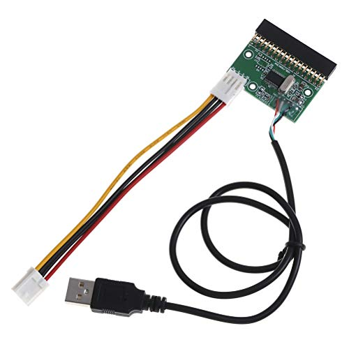 """1.44MB 3.5/"""" floppy drive connector 34 PIN 34P to USB cable adapter PCB board D~"""