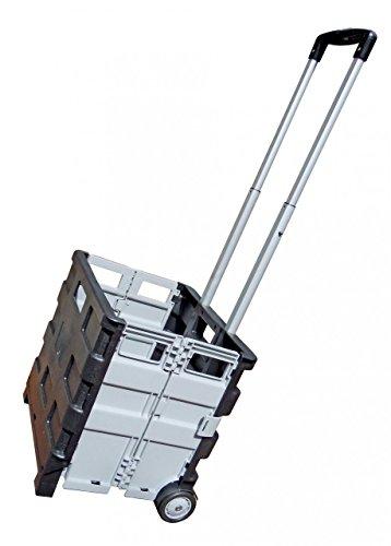 Navyline Faltbox-Trolley mit Teleskopgriff - Tragkraft 25kg