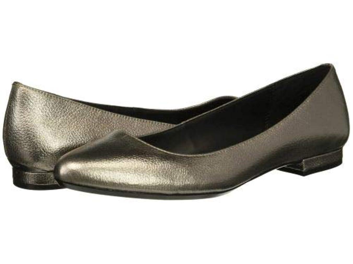 通路創造伝導Calvin Klein(カルバンクライン) レディース 女性用 シューズ 靴 フラット Gredel - Pewter [並行輸入品]