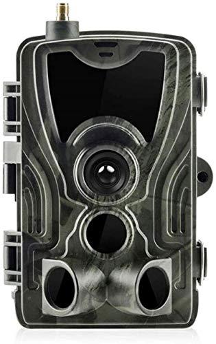 XQMY Cámaras de Juego Cámara Trail 16MP 1080P de Alta resolución con visión Nocturna IP65 Impermeable Adecuado para Exteriores