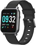 ZHICHUAN Smartwatch Smart Watch, Blut-Sauerstoff-Fitness-Tracker, Blutdruck, Herzfrequenz-Monitor, Ip67 Wasserdichte Smartwatch-Fitness-Uhr Smart Watch (Männliche Frauen Für Android