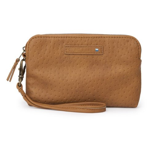 Golla G1633 AIR Wristlet Deluxe Universal Fudge