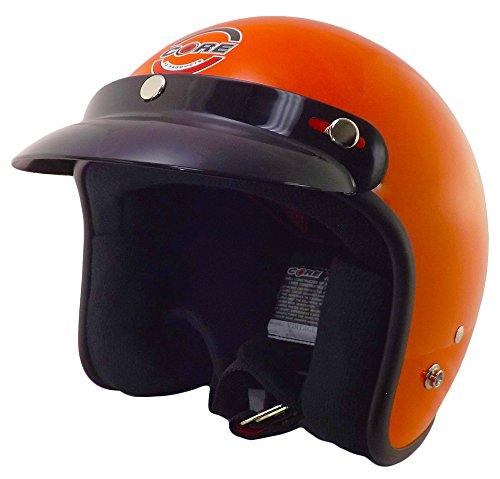 Hunter Safety Deluxe Open-Face Orange Helmet