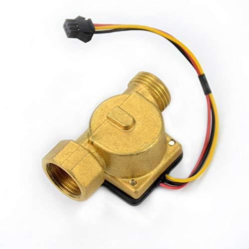 YEZIO Módulo de Sensor electrónico G1 / 2 Sensor de Flujo de...