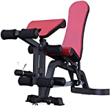 MUZIDP Peso Bench Training Fitness Gym Professional Dumbbell Bench Comercial Banco Bench Bench Press Training Bench Supine Board Sports Fitness Silla Función Completa Fitness Bench Press Silla