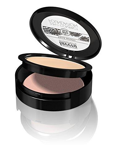 lavera Maquillaje fluido compacto 2in1 -Ivory 01- vegano - cosméticos naturales 100% certificados - 10 gr