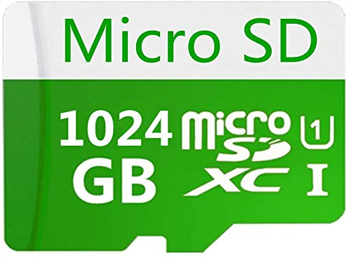 Scheda Micro SD SDXC da 512 GB / 1024 GB Scheda di memoria SDXC Classe 10 ad alta velocità + Adattatore gratuito (1024GB-2)