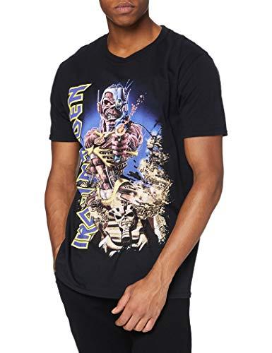 T-Shirt # L Black Unisex # Somewhere Back in Time