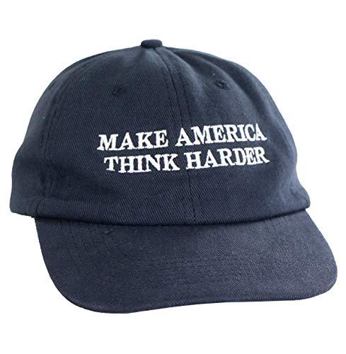 Math Hat (Make America Think Harder) – Dark Blue