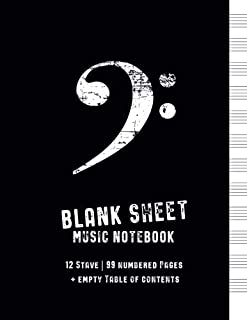 Best music sheets empty Reviews