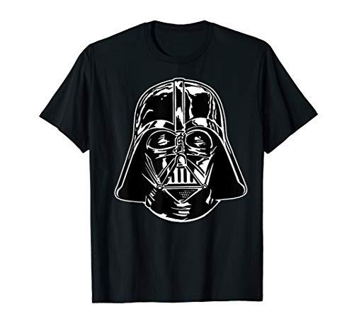 Star Wars Darth Vader Classic Black Helmet Graphic T-Shirt