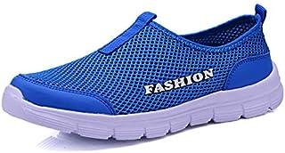 Bangqi Yangshi Breathable Mesh Casual Men Shoes Summer Sneakers Men Footwear Running Shoes Men's Lightweight Slip-on Sanda...