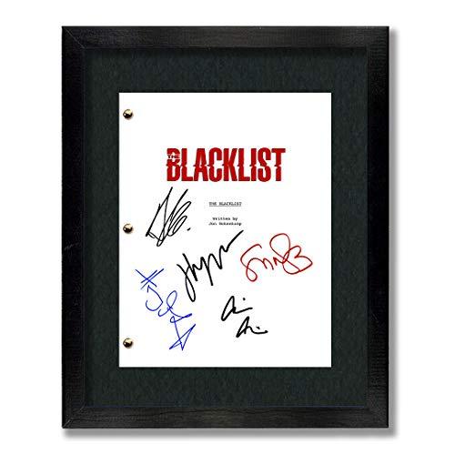 The Blacklist TV Cast Autographed Script