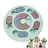 Ledeak Dog Feeder Puzzle Ciotola, Smart Cani Puppy Pet Giocattolo Giochi Interattivo Treat Dispenser Gioco Training IQ Attivazione Mentale Games Antiscivolo Slow Feeder