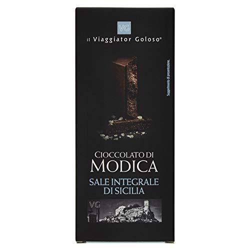Il Viaggiator Goloso Cioccolato di Modica Sale Integrale di Sicilia - 100 g