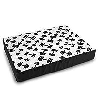 バーベルダンベルフィットネス機器ペットベッド ペット用マット ソファ 猫/犬 ベッド ペット用寝袋 ベッド ぐっすり眠る 洗える 小型犬 ペットマット暖かい 滑り止め 洗える 通年使える(S:50.5cmx38cmx8cm)