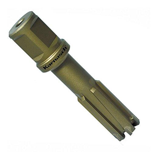 webkaufhaus24 Hartmetall bestückter Kernbohrer HM, Weldonschaft 19 mm, Nutzlänge 50 mm, Hardox-Line50 / Rail-Line50 Pro d=26mm