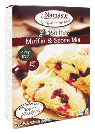 Namaste Foods - Gluten Free Muffin & Scone Mix - 16 oz.(pack of 2)