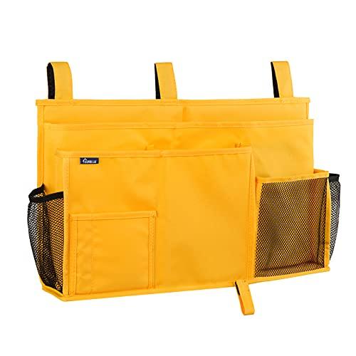 Surblue Caddy Organizador colgante Bolsa de almacenamiento junto a la cama para literas