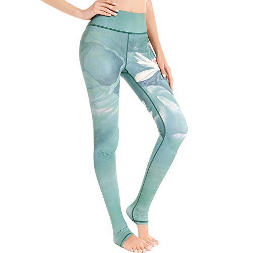 SEEU Yogahosen Fitness Leggings Grün M