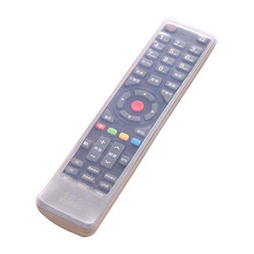 Lifemaison Fernbedienung Hülle Fernbedienung Schutzhülle Silikon Transparent Klimaanlage TV-Fernbedienung Schutztasche, staubdicht und wasserdichte Abdeckung